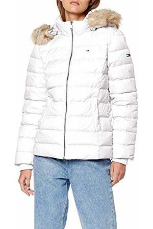 Tommy Hilfiger Women Jackets - Women's Tjw Essential Hooded Down Jacket (Classic 100)