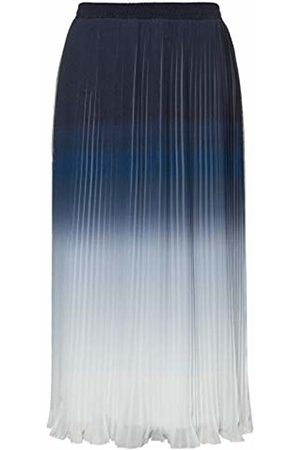 Ulla Popken Women's Plisseerock Farbverlauf Skirt
