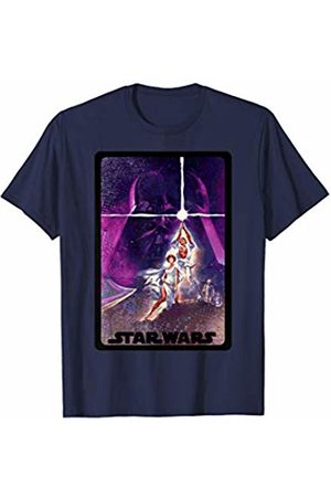 STAR WARS Luke and Leia Lightsaber Graphic T-Shirt