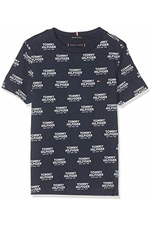 Tommy Hilfiger Boy's All Over All Over Print Logo Tee S/s T-Shirt
