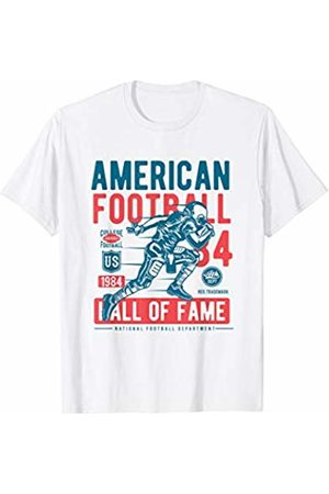 An ideal gift for a foodie friend who loves Italia American Football T-Shirt Vintage Gridiron Sports Gift Tee