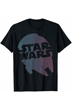 STAR WARS Millennium Falcon Radial Hypnotic Graphic T-Shirt