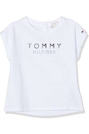 Tommy Hilfiger Baby Girls' Foil Print Tee S/s T-Shirt, (Bright 123)