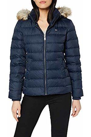 Tommy Hilfiger Women's Tjw Essential Hooded Down Jacket ( Iris 002)