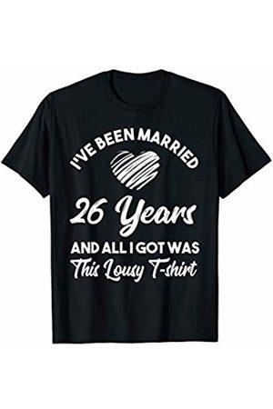 Medotukito 26th Wedding Anniversary Gift and All I Got Was This Shirt