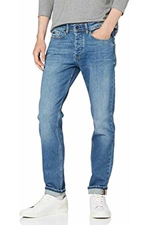 HUGO BOSS Men Tapered - Men's Taber Bc-c Tapered Fit Jeans, (Bright 434)