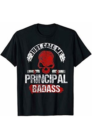 TSExpressive School Principal Designs Funny Just Call Me Principal Badass Back To School Gift T-Shirt