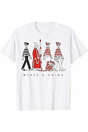 Where's Waldo? Where's Waldo Group Walk Stripes T-Shirt