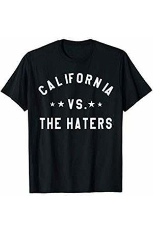 State Of California USA Art Gift and Apparel California Vs The Haters Represent The Golden State Pride T-Shirt