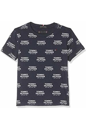 Tommy Hilfiger Baby Boys' All Over All Over Print Logo Tee S/s T-Shirt