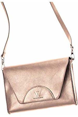 Wunschleder Wunleder Women's Handbag Belt Bag Rose Gold Rose Apricot 100% Leather Various Carrying Options Luggage Strap