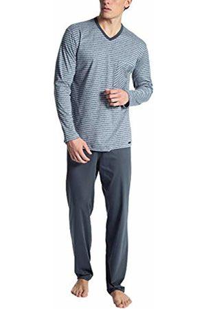 Calida Men's Relax Streamline 2 Pyjama Set, (Lavender 352)