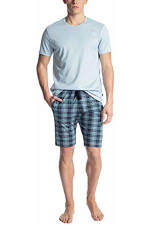 Calida Men's Casual Cotton Pyjama Set, (Tempest 533)