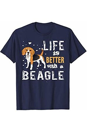 LVGTeam Life is Better With a Beagle t-shirt Beagles Lover Gift