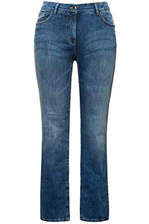 Ulla Popken Women's Jeans Destroyed Effekte, Mandy Straight