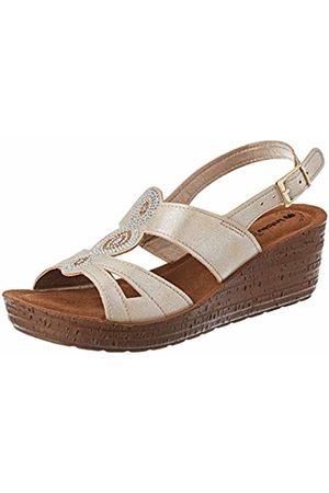 Inblu Women's Glamour Ankle Strap Sandals