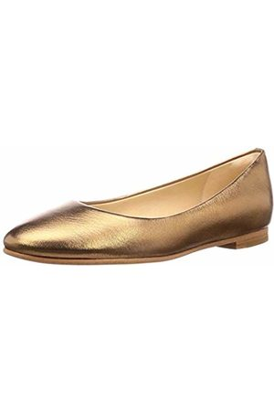 Clarks Women's Grace Piper Ballet Flats, Bronze Metallic