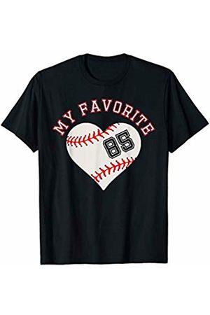 Baseball Player My Favorite Star Fan Shirt Gifts Baseball Player 85 Jersey Outfit No #85 Sports Fan Gift T-Shirt
