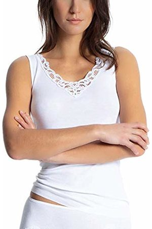 Calida Women's Cotton Finerib Vest