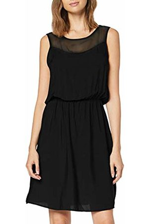 Vero Moda Women's Vmdepo S/l Mesh Yoke Dress Exp
