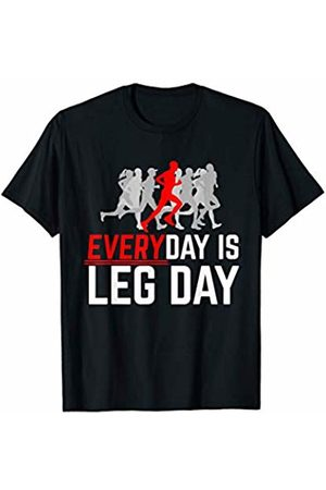 Bowes Fitness Everyday Is Leg Day Male Running T-Shirt