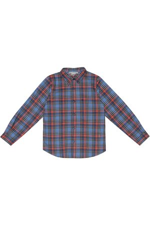 BONPOINT Checked cotton shirt