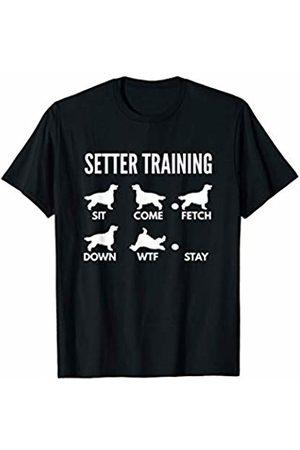PedigreePrints Setter Training - Red Setter Tricks T-Shirt