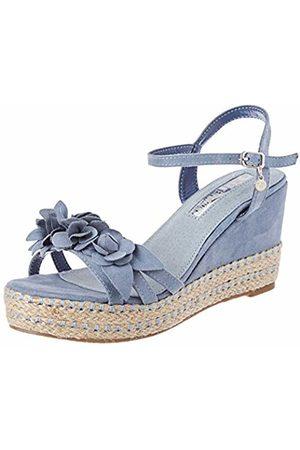 Xti Women Sandals - Women's 35040 Sling Back Sandals, Jeans