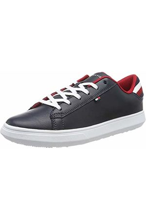 Tommy Hilfiger Men's Essential Leather Detail Cupsole Low-Top Sneakers