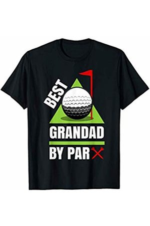 Funny Golf Shirts for Grandfathers - Wtz Funny Golf Quote Best Grandad by Par T-Shirt