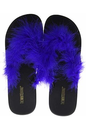 THE WHITE BRAND Women's Feather Flip Flops
