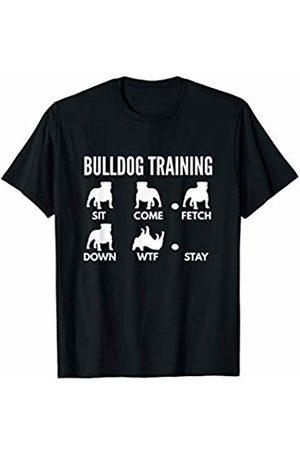 PedigreePrints Bulldog Training - English Bulldog Tricks T-Shirt