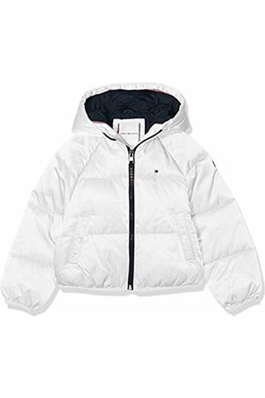Tommy Hilfiger Girls Winter Jackets - Girl's Recycled Short Puffer Jacket, Bright 123