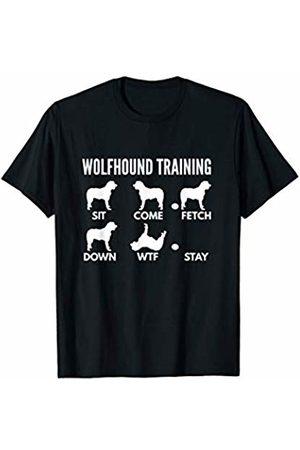 PedigreePrints Wolfhound Training - Irish Wolfhound Tricks T-Shirt