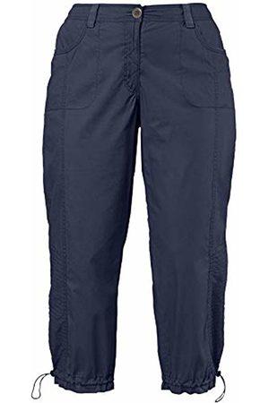 Ulla Popken Women Cargo Trousers - Women's Cargohose 7/8 Trouser