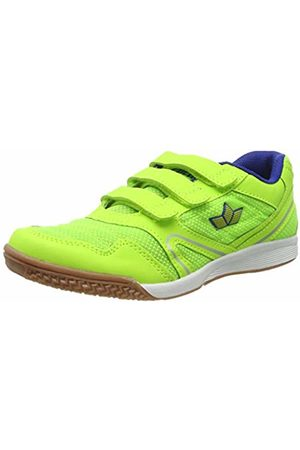 LICO Unisex Adults' Boulder V Multisport Indoor Shoes, Lemon/Blau