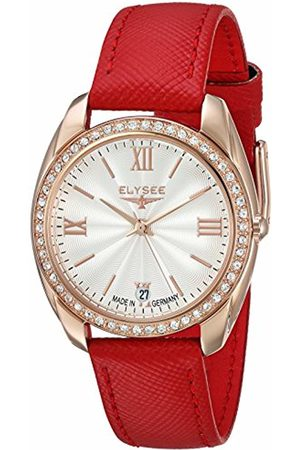 ELYSEE Unisex Adult Analogue Quartz Watch with Leather Strap 28602
