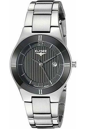 ELYSEE Unisex Adult Analogue Quartz Watch with Stainless Steel Strap 33043