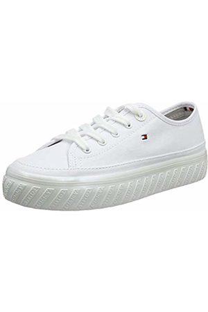 Tommy Hilfiger Women Trainers - Women's Outsole Detail Flatform Sneaker Low-Top ( 100)