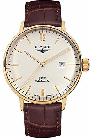 ELYSEE Unisex Adult Analogue Automatic Watch with Leather Strap 13281