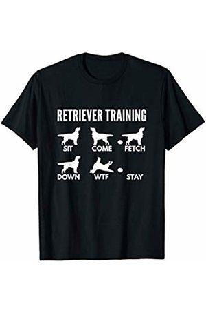 PedigreePrints Retriever Training - Flat-coated Retriever Tricks T-Shirt