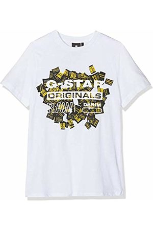 G-Star G-Star Boy's Sp10056 Ss Tee T-Shirt, 01