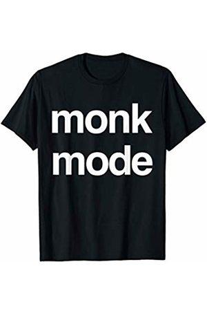 BW Meditation Tops Monk Mode Buddhist Religion Meditation Yoga T-Shirt