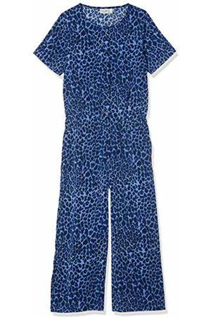 Name it Girls Jumpsuits & Playsuits - Girl's Nkfvinaya Culotte Ss Jumpsuit K Dungarees, Bonnet