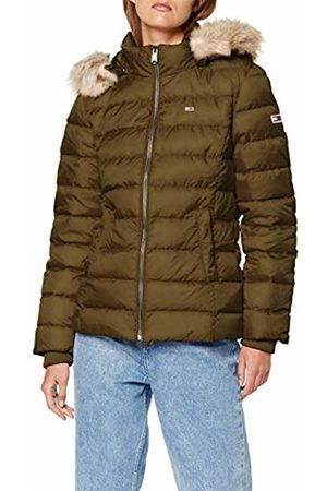 Tommy Hilfiger Women's Tjw Essential Hooded Down Jacket (Capers 308)