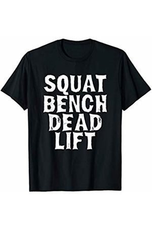 Shocking Styles Weightlifting Squat Bench Deadlift Vintage Lifting Gym Fitness Meme Quote T-Shirt