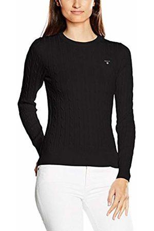 GANT Women's Stretch Cotton Cable Crew Shirt