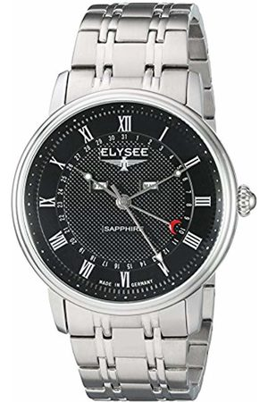 ELYSEE Unisex Adult Analogue Quartz Watch with Stainless Steel Strap 77001