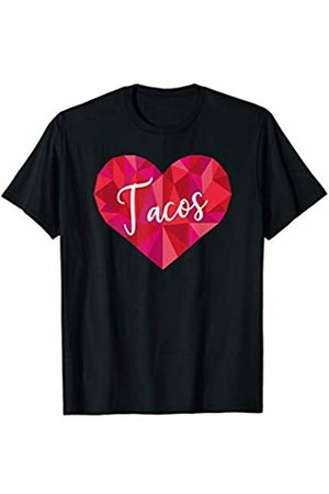 Triple G Mavs Tacos Heart Shirt Low Poly Geometric Gift