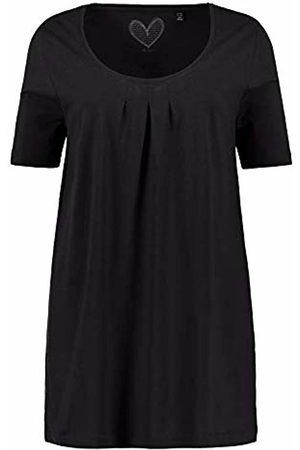 Ulla Popken Women's Fältchenshirt Uni, A-line T-Shirt